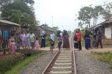 Satu Keluarga di Sukabumi Tertabrak Kereta Api, 1 Orang Tewas