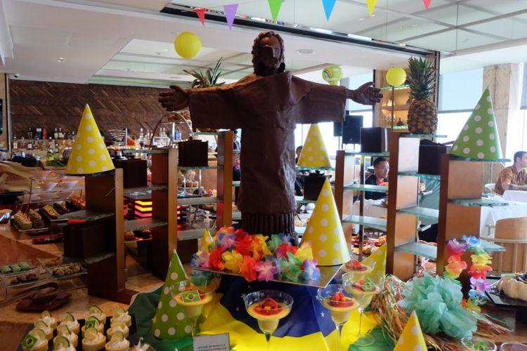 Kuliner Brasil si Keraton a The Plaza Hotel Jakarta.