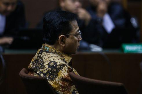 Setya Novanto Bantah Kecelakaan Direkayasa
