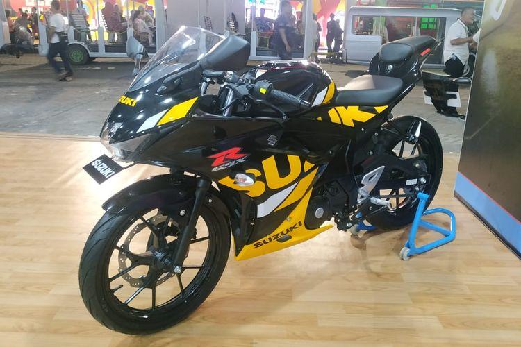Suzuki GSXX-R150 di Jakarta Fair Kemayoran 2019