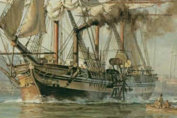 Ilustrasi USS Savannah