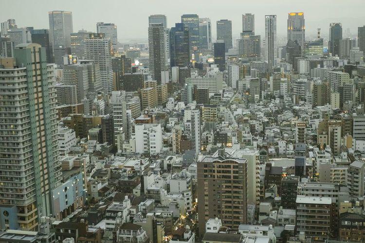 Kota di Jepang