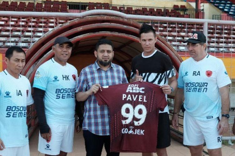 Pemain baru PSM, Pavel Purishkin.