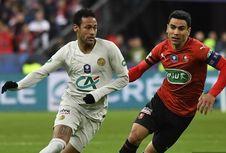 Rennes Vs PSG, Comeback Rennes Buat Neymar dkk Gagal Juara