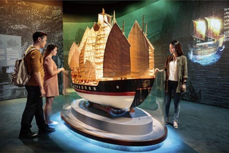 Maritime Experiential Museum di Resorts World Sentosa, Singapura.