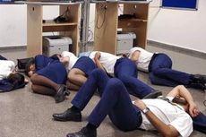 Tidur di Lantai Bandara Spanyol, 6 Awak Kabin Ryanair Dipecat