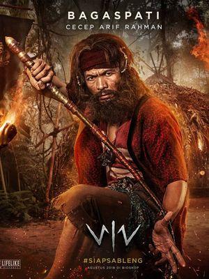 Cecep Arif Rahman berperan sebagai karakter jahat Bagaspati dalam film Wiro Sableng.