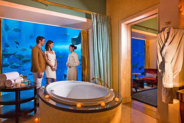 Kamar Mandi di Atlantis The Palm, Dubai, Uni Emirat Arab