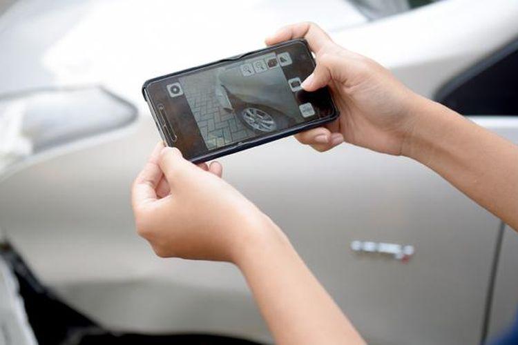 Sejak awal 2015, aplikasi ponsel Garda Mobile Otosurvey memudahkan konsumen mengajukan proses klaim.