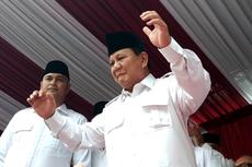 Saat Prabowo Joget dan Ungkap Kebahagiaannya di HUT Ke-74 RI...