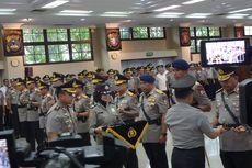 Kapolri Lantik Perwira Tinggi Gantikan Dua Polisi yang Ikut Pilkada