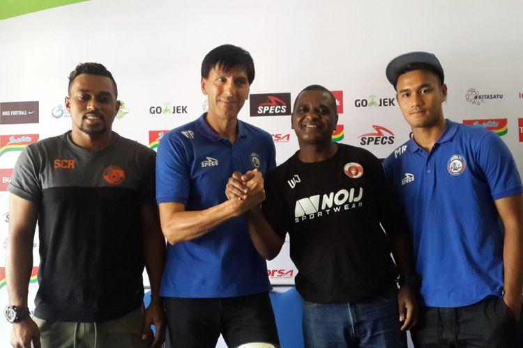 Menang Telak, Pelatih Arema FC Puji Pemain