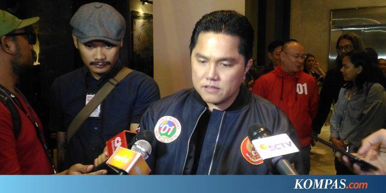"ISAT Erick Thohir: Kalau Pak Sandi Mau ""Buyback"" Indosat, Ya Mungkin sebagai Bisnis... - Kompas.com"