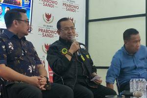 Timses Prabowo: Protes Kami Wajar karena Kaget dengan Pertanyaan Pak Jokowi