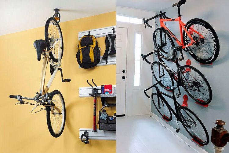 Pengait dinding untuk sepeda