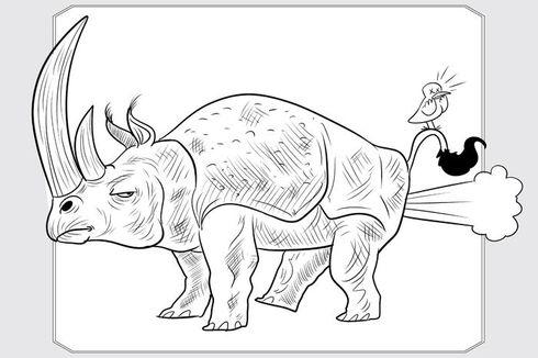 Gajah, Badak, dan Ikan Bisa Kentut, Bagaimana dengan Dinosaurus?