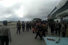 2 SSK Brimob Tiba di Timika Papua untuk Pulihkan Situasi Keamanan