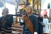 Lantunan Doa Para Peziarah 'Logu Senhor' di Gereja Tua Sikka