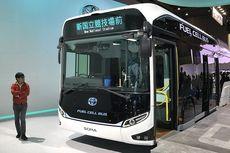 Toyota Mau Bawa Bus Listrik ke Indonesia?
