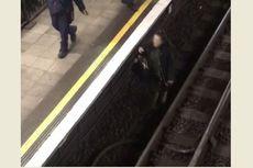 Ambil Ponsel di Rel, Perempuan Ini Bikin 4 Jalur Kereta Ditutup