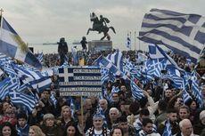 Aksi Demonstrasi di Yunani Tuntut Macedonia Ubah Nama