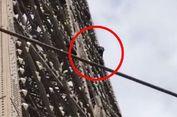 Setelah Capai Puncak, Pemanjat Menara Eiffel Ditangkap 6 Jam Kemudian