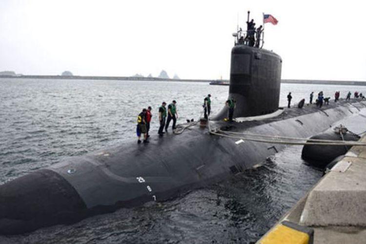 """""""Hacker"""" China Diduga Curi Data Misil Supersonik Kapal Selam AS"""