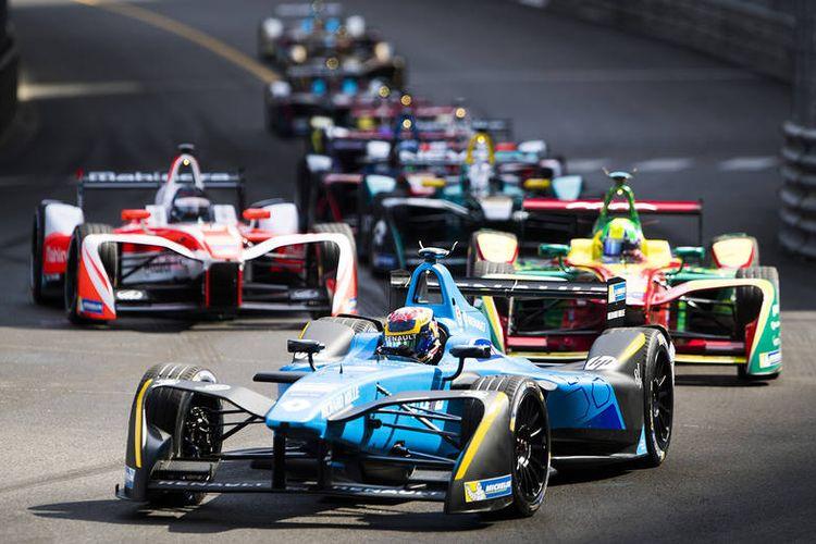 2016/2017 FIA Formula E Championship in Monte-Carlo, Monaco, Saturday (13/5/2017). Sebastien Buemi (SUI), Renault e.Dams, Spark-Renault, Renault Z.E 16.