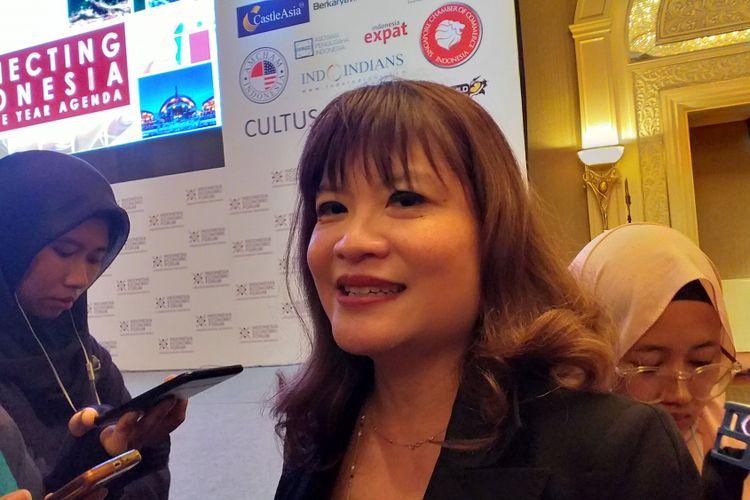 Wakil Ketua Umum Asosiasi Pengusaha Indonesia (Apindo) Shinta Widjaja Kamdani.