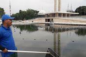 Cerita Penjaga Kolam Air Mancur Proyek Revitalisasi Lapangan Banteng