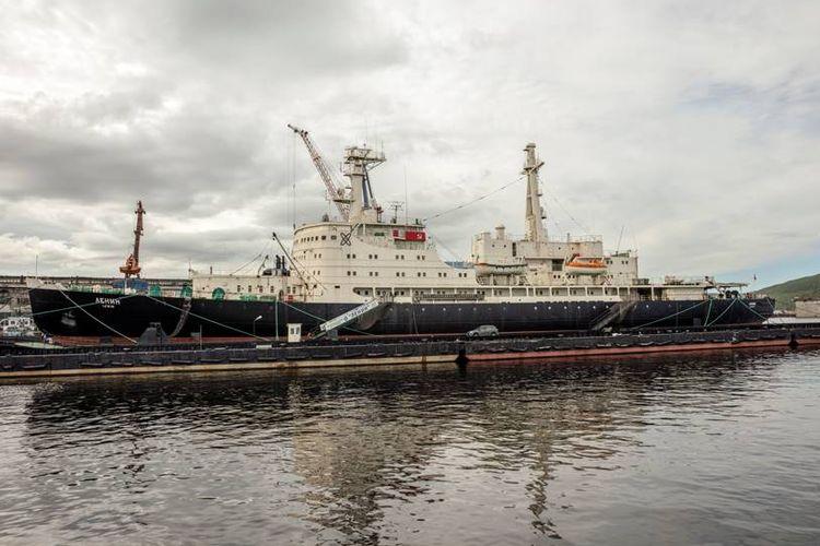 Kapal Lenin menjadi museum di pelabuhan Murmansk