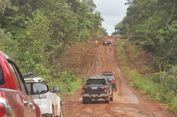 Jalan Rusak di Perbatasan Papua 58 Kilometer
