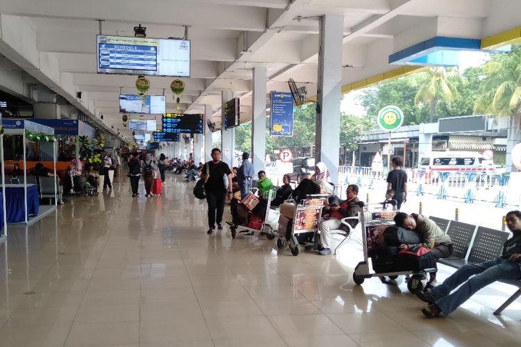Situasi Bandara Halim Perdanakusuma, Jakarta Timur, Selasa (4/6/2019)