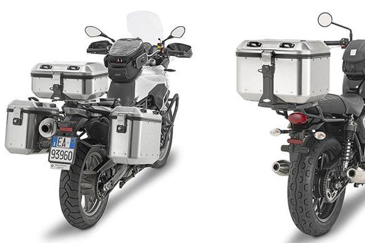 GIVI Trekker Dolomiti top case cocok untuk semua motor adventure.