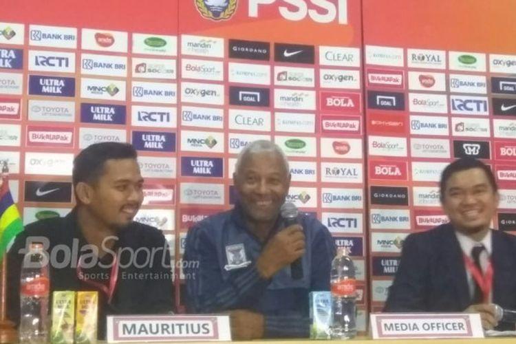 Pelatih Mauritius Puji Permainan Timnas Indonesia