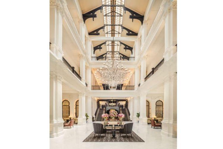 Lobby dari Raffles Hotel