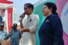 Blusukan di Sukabumi, Jokowi Pakai Baju Paspampres dan Sepatu Vans
