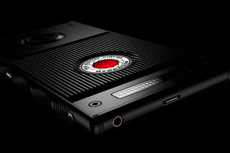 Teaser smartphone Hydrogen One besutan Red.