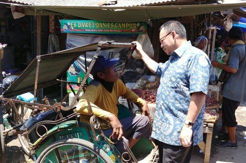 """""""Blusukan"""" di Kota Tegal, Sudirman Said Bertekad Kembangkan Pasar Tradisional"""