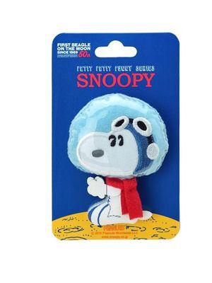 Petit Petit Funny Series Plush Badge Astronauts Snoopy