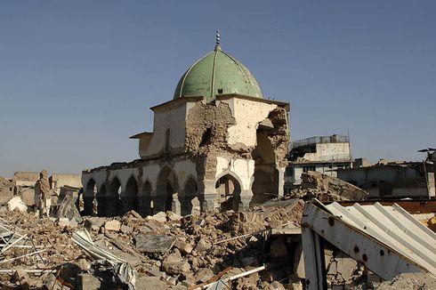 Irak dan UEA Sepakat Bangun Kembali Masjid Agung di Kota Mosul