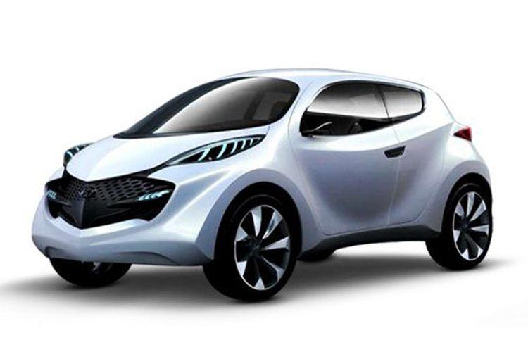 Hyundai Santro, mobil murah yang sedang dikembangkan di India.