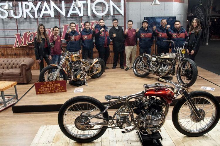 Motor kustom Indonesia mulai curi perhatian di Verona