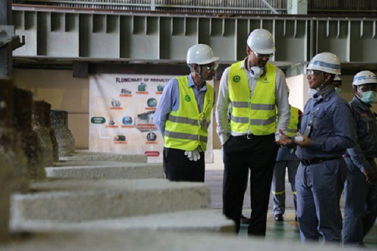 Emirates Global Aluminium Kunjungi Inalum untuk Jajaki Kerja Sama