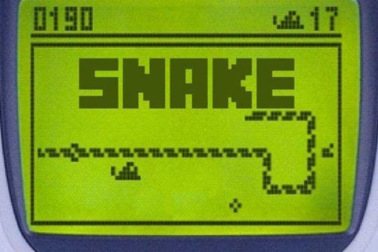 Game Snake di 3310