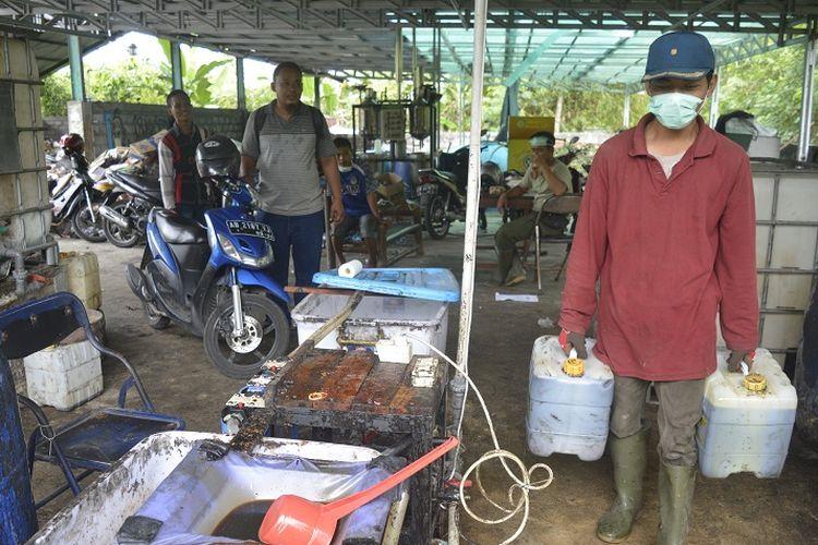 Gara-gara Limbah Minyak Goreng, Desa Ini Hasilkan Ratusan Juta Rupiah
