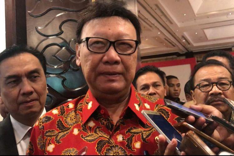 Mendagri Tjahyo Kumolo di Surabaya, Kamis (15/11/2018)
