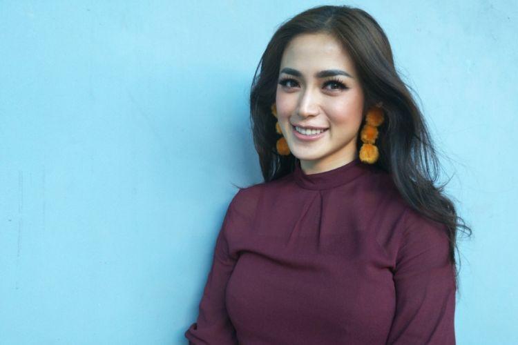 Jessica Iskandar dalam wawancara di Studio TransTV, Mampang, Jakarta Selatan, Rabu (31/1/2018).