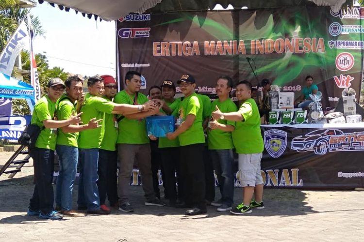 Komunitas Ertiga adakan Munas di Malang, Jawa Timur.
