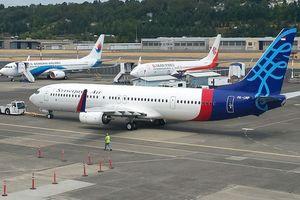 Malam Ini, Pesawat Sriwijaya Air Akan Dipasangi Logo Garuda Indonesia